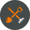 Timber Harvesting Icon