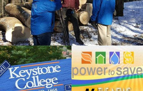 Keystone College and WNEP